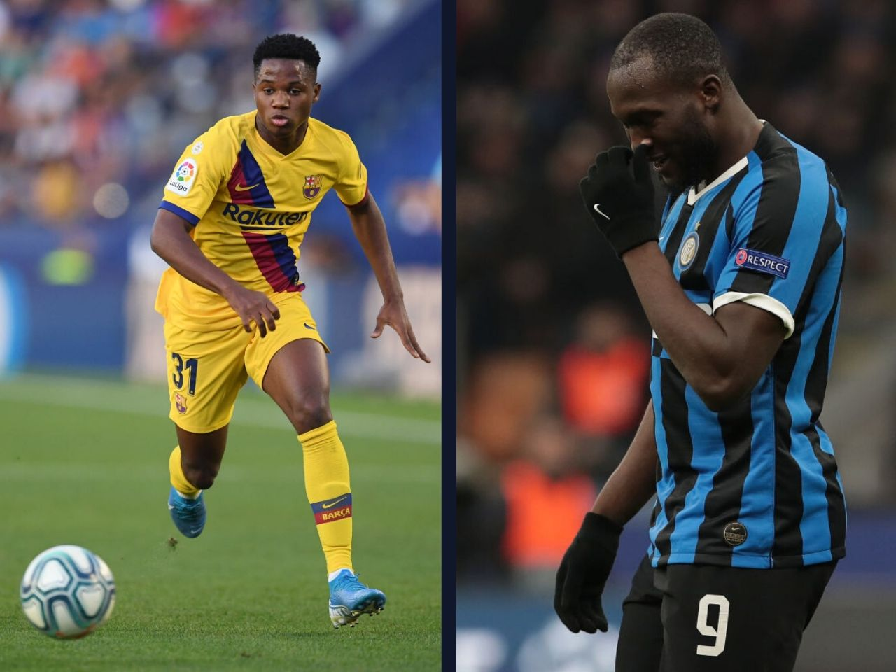 Ansu Fati, FC Barcelona, Inter Milan, La Liga