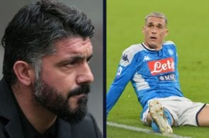 Gattuso to start strongly with Napoli The team goes in retreat as soon as he takes over