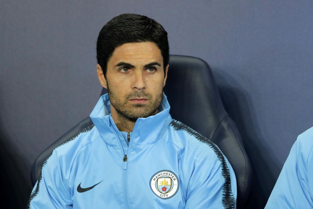 Mikel Arteta, Manchester City