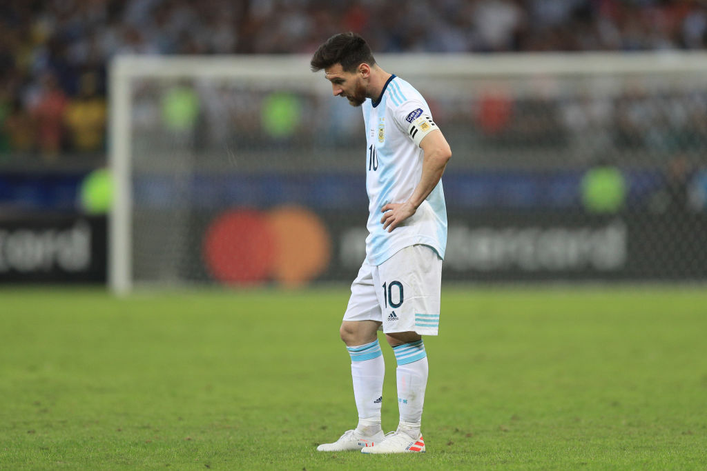 Baron Cup 2020.Scaloni Backs Messi To Play For Argentina Beyond 2020