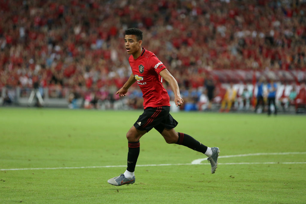 Mason Greenwood, Manchester United