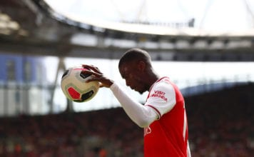 Arsenal FC v Burnley FC - Premier League image