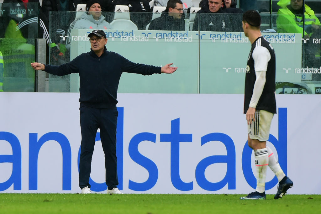 Cristiano Ronaldo, Maurizio Sarri, Juventus, Serie A