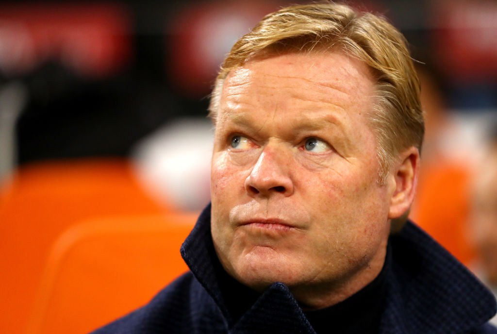 ronald koeman, netherlands