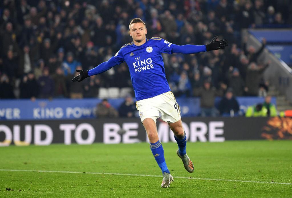 Jamie Vardy, Leicester City, English Premier League