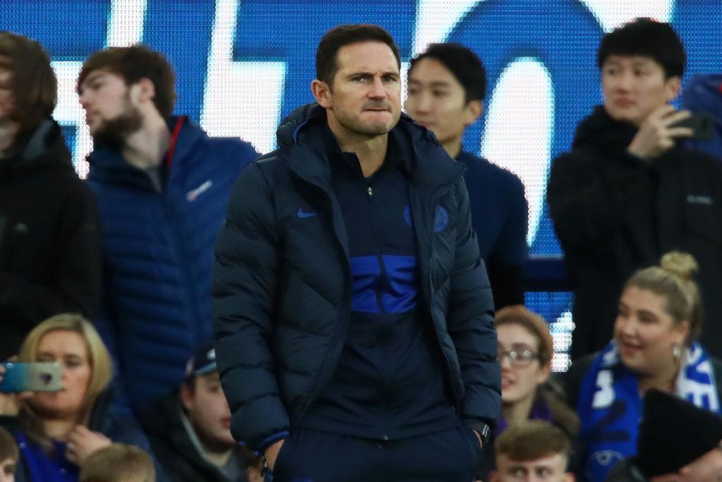 Frank Lampard, Everton FC v Chelsea FC - Premier League