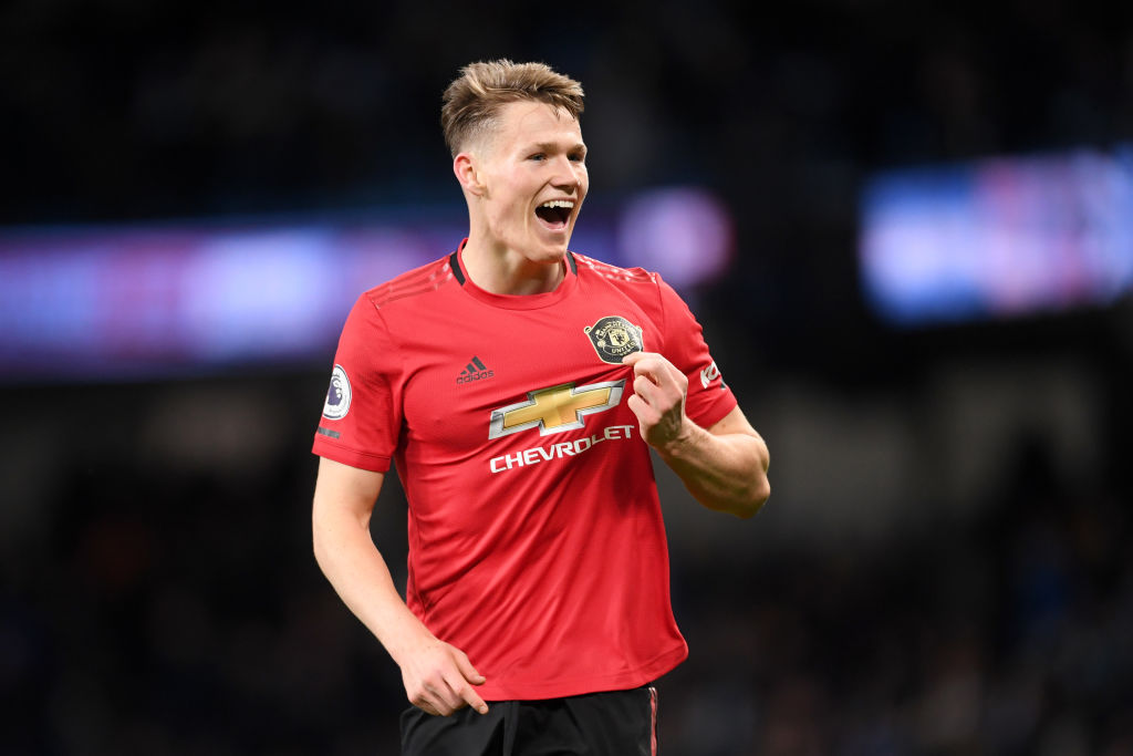 Scott McTominay, Manchester United, Premier League