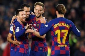 Antoine Griezmann Lionnel Messi Barcelona
