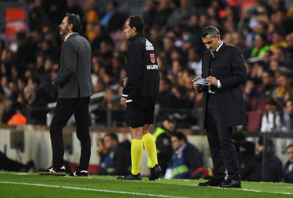Ernesto Valverde Barcelona Real Sociedad