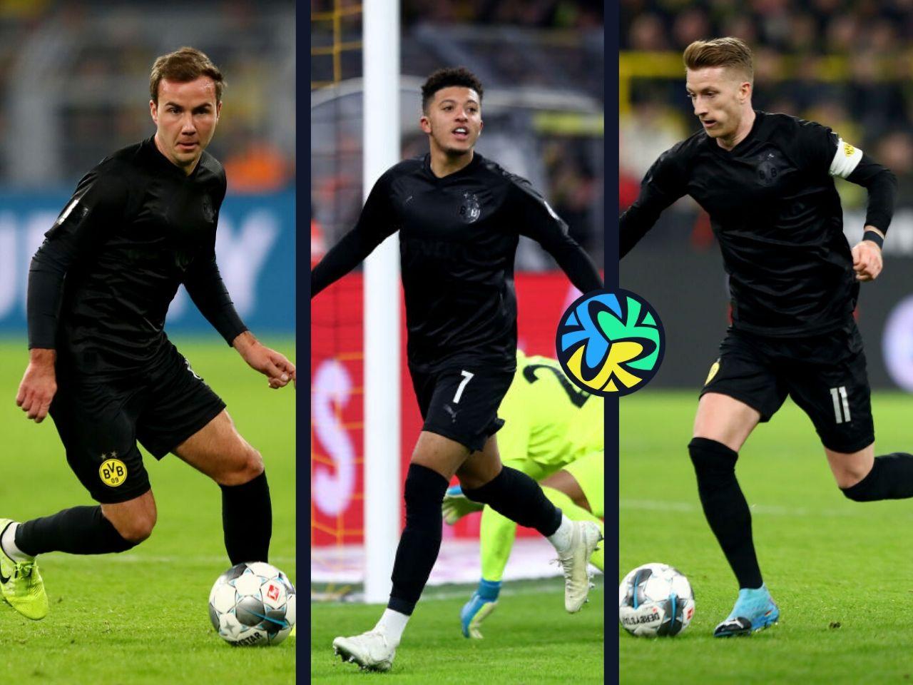 Jadon Sancho Marco Reus Borussia Dortmund Lucien Favre