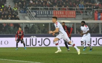 Bologna FC v AC Milan - Serie A image