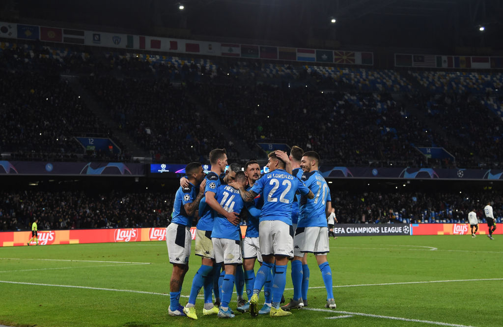Napoli vs genk