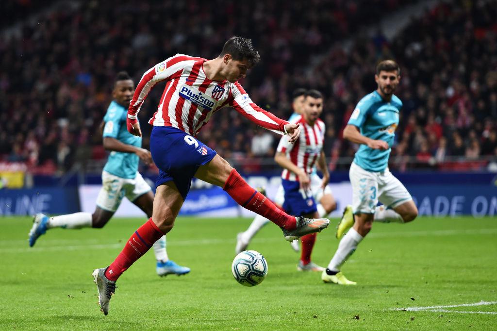 Alvaro Morata, Atletico Madrid vs Osasuna, La LIga