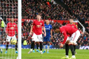 Manchester United vs Everton, Premier League