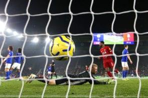 Kasper Schmeichel, Leicester City vs Liverpool