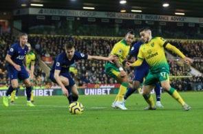 Norwich City v Tottenham Hotspur, Premier League
