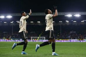 Anthony Martial, Marcus Rashford, Burnley vs Manchester United