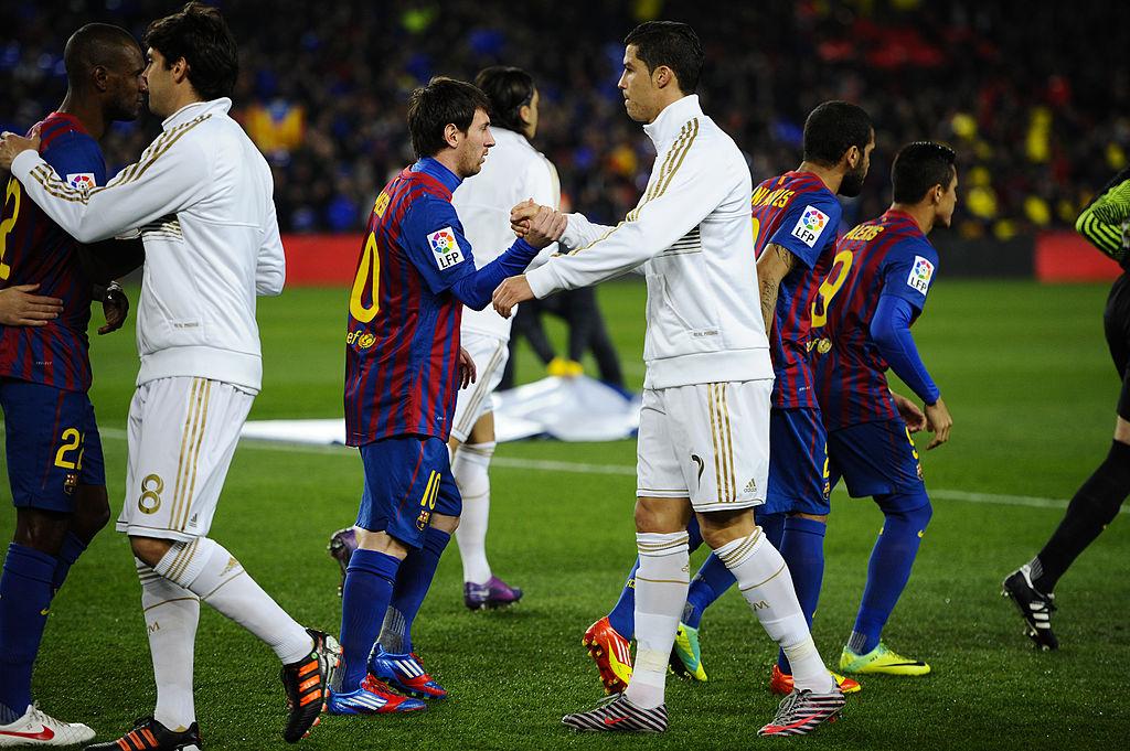 Cristiano Ronaldo, Real Madrid, Lionel MessiBarcelona