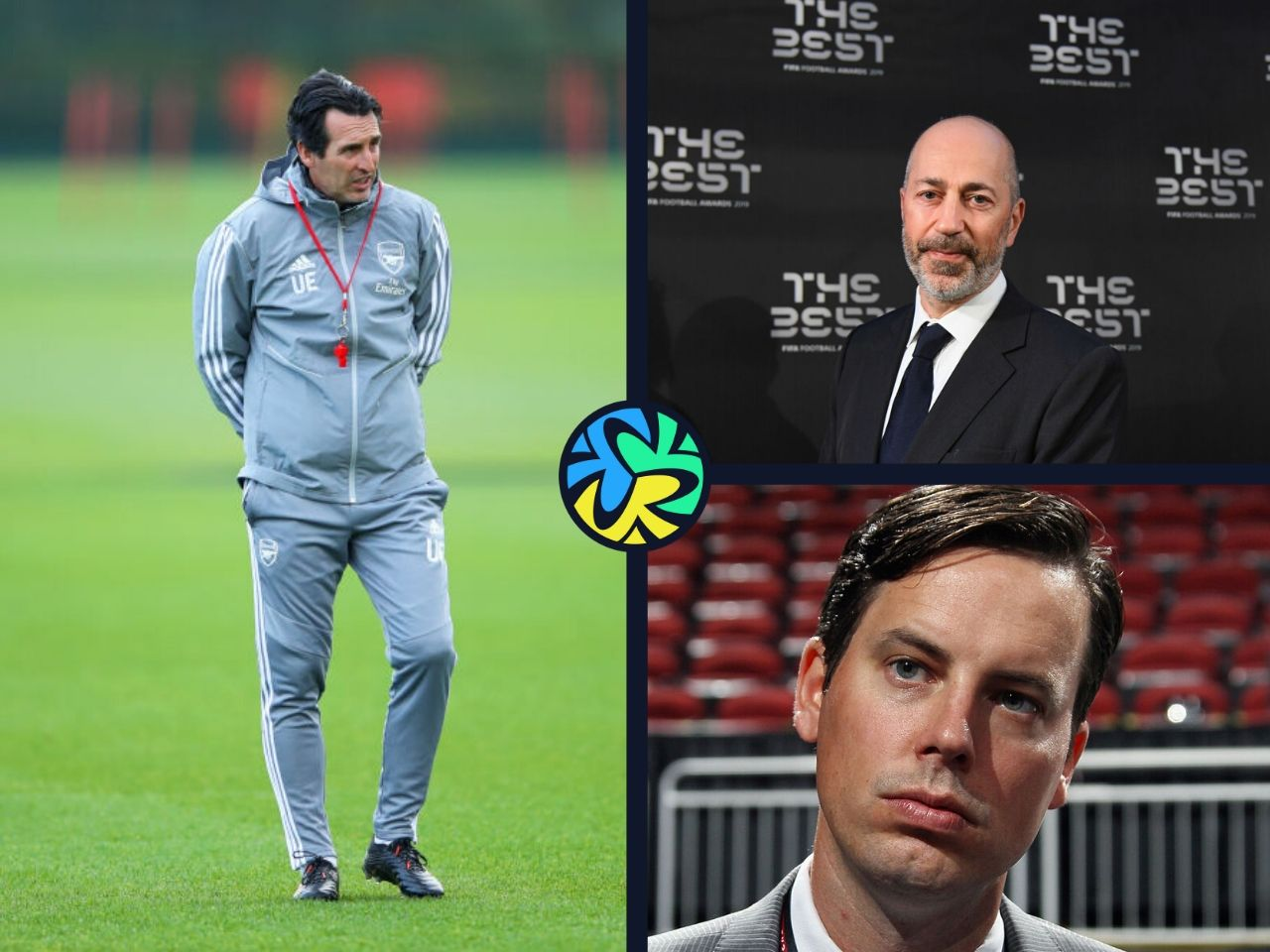 Unai Emery, Jost Kroenke, Arsenal, Aaron Ramsey