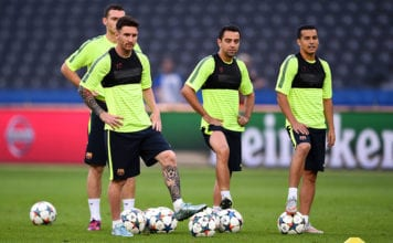 FC Barcelona Training Session - UEFA Champions League Final image