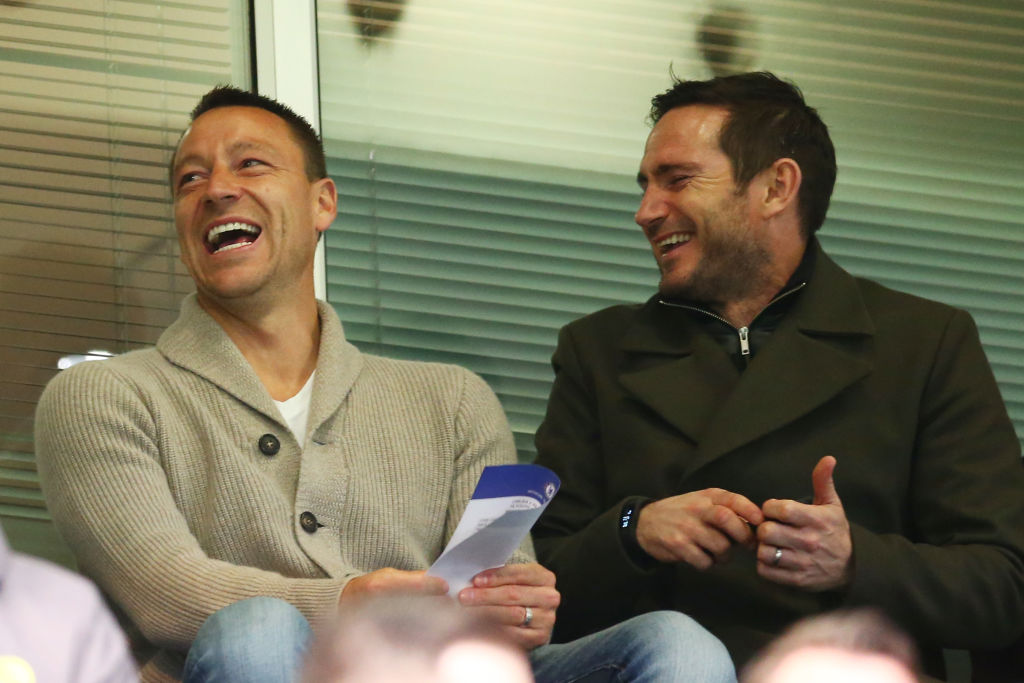 Frank Lampard, John Terry, Premier League