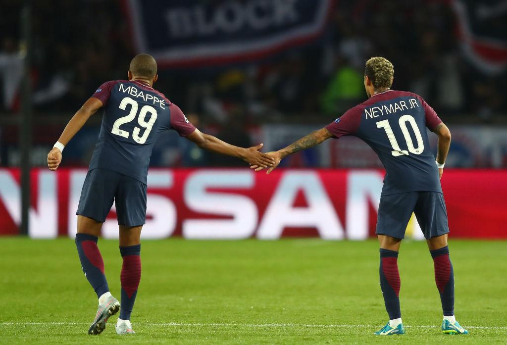 Kylian Mbappe, Neymar, PSG