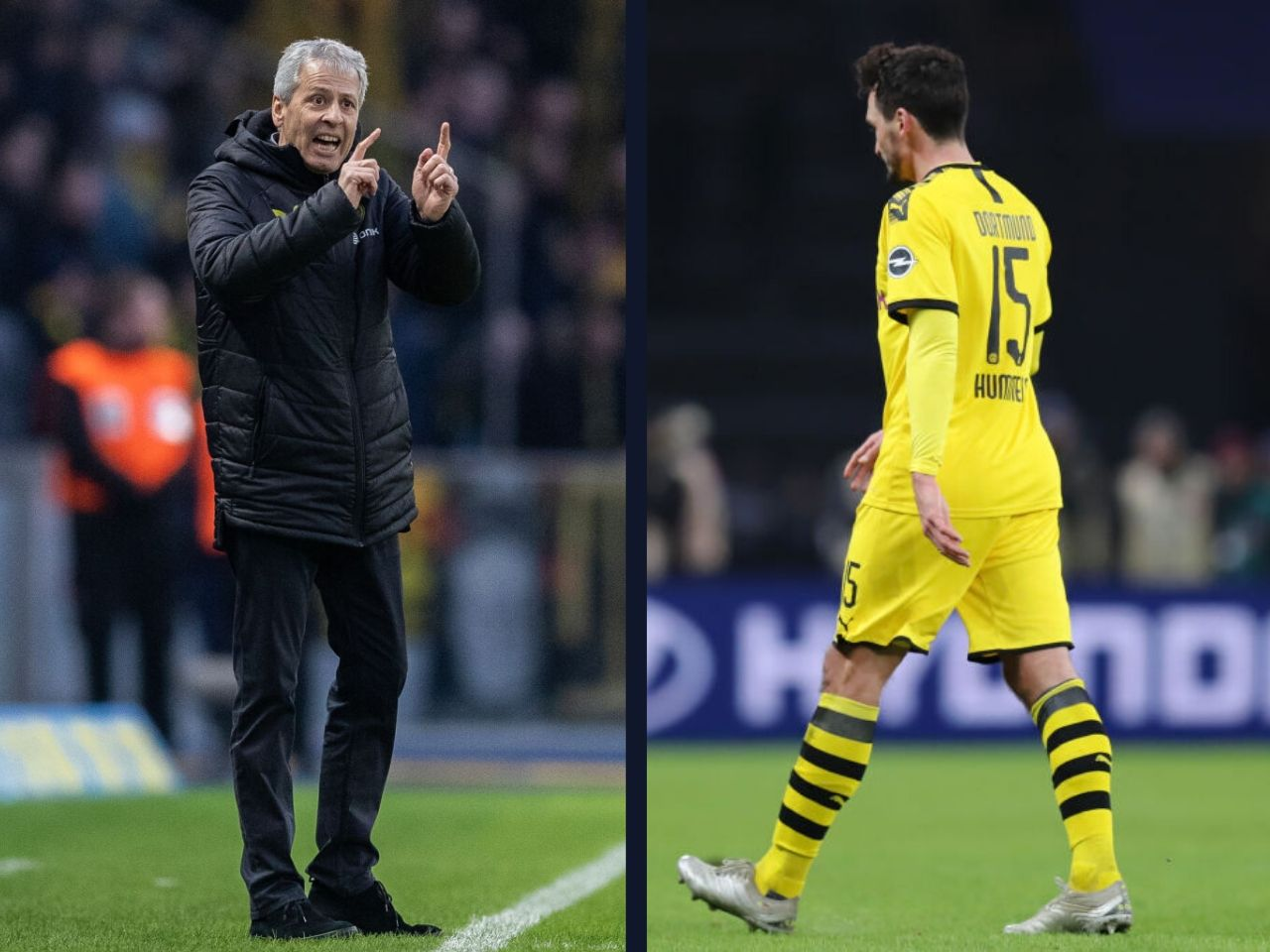 Lucien Favre, Mats Hummels, Borussia Dortmund, Bundesliga