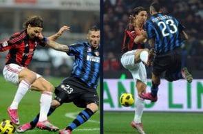 Marco Materazzi, Zlatan Ibrahimovic, Inter Milan, AC Milan, Serie A