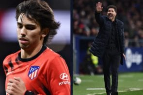 Joao Felix should run less - Diego Simeone