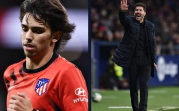 Joao Felix should run less - Diego Simeone image