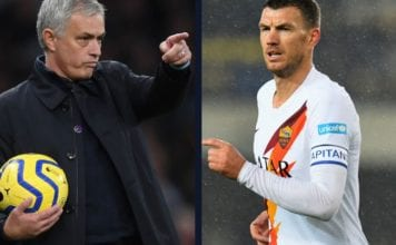 Jose Mourinho demans Dzeko in January image