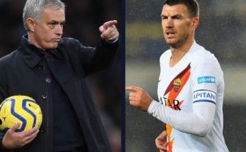 Jose Mourinho demans Dzeko in January image