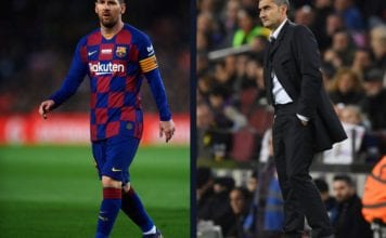 Messi left out of Barcelona squad for Inter clash image