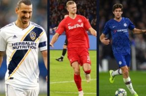 Zlatan Ibrahimovic, Erling Braut Haaland, Chris Smalling