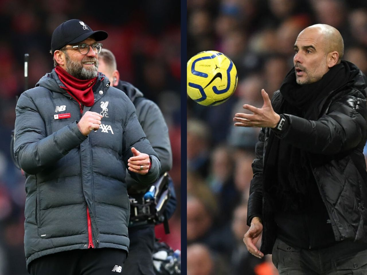 Pep Guardiola, Liverpool, Manchester City, Premier League
