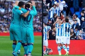 FC Barcelona, Real Sociedad, La Liga