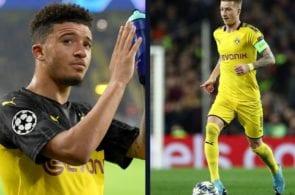 Jadon Sancho, Marco Reus, Borussia Dortmund, Bundesliga