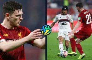 Sadio Mane, Andy Robertson, Liverpool, Premier League, Flamengo