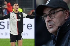 Sarri hits out at Ronaldo and his team-mates They didn't respect my strategy!