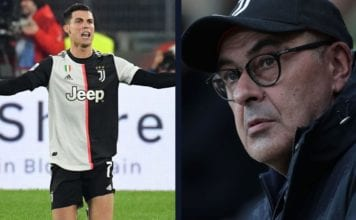 Sarri hits out at Ronaldo and his team-mates They didn't respect my strategy! image