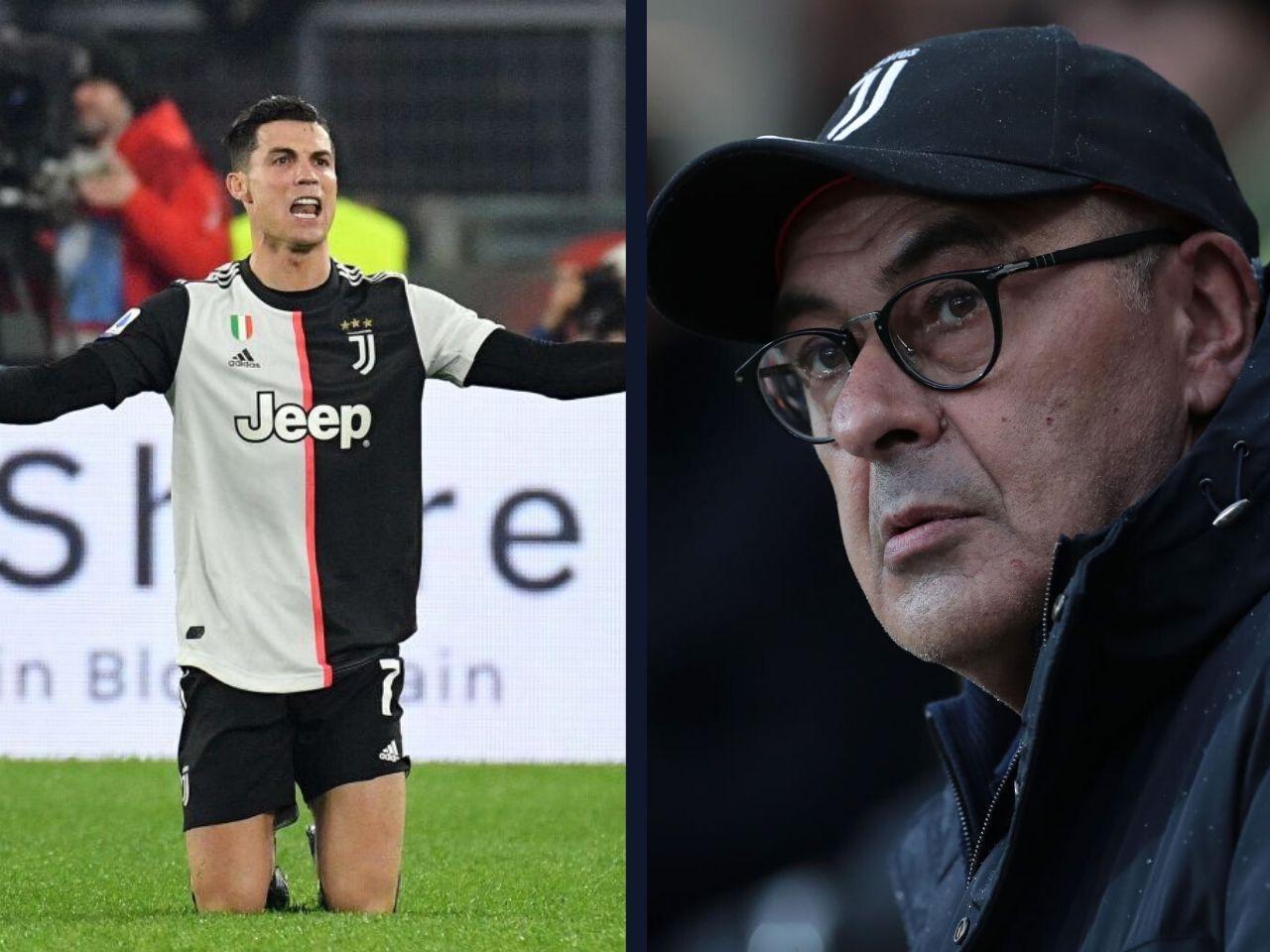 Maurizio Sarri, Juventus, Serie A, Cristiano Ronaldo