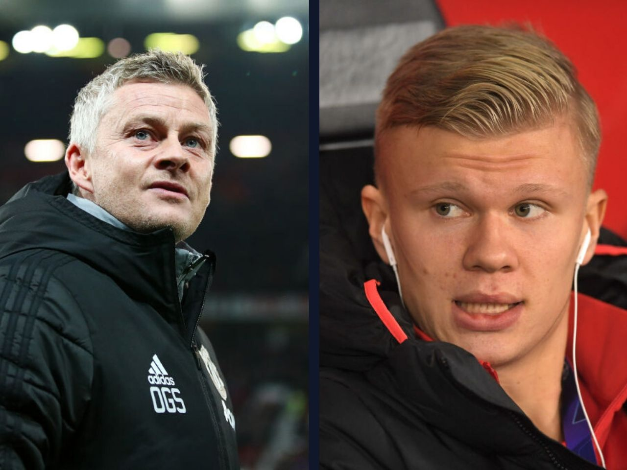 Ole Gunnar Solskjaer, Erling-Braut Haaland, RB Salzburg, Manchester United, Premier League