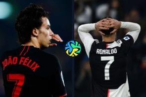 joao felix, atletico madrid, cristiano ronaldo, juventus