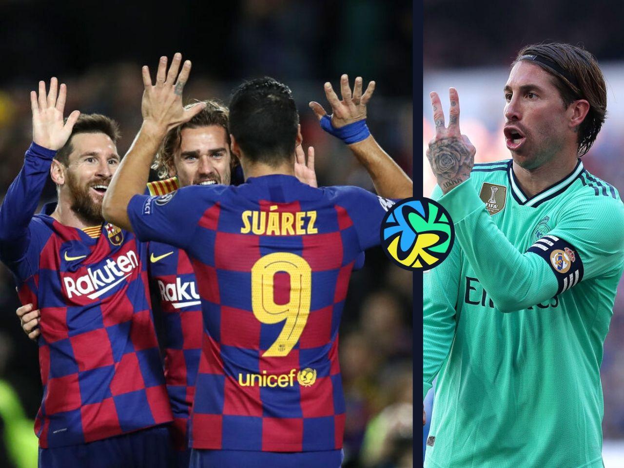 Predicted Xi Barcelona Vs Real Madrid Ronaldo Com