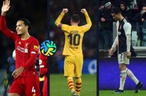 Cristiano Ronaldo, Lionel Messi, Barcelona, Real Madrid, Virgil van Dijk