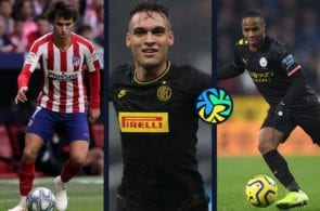 Atletico Madrid Inter Milan Manchester City