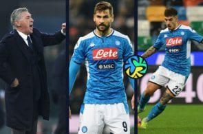 Napoli Carlo Ancelotti Blues