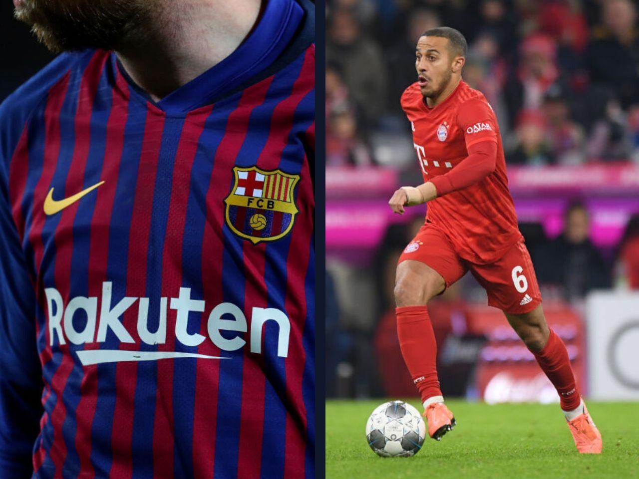 Thiago Alcantara, FC Barcelona, La Liga, Bayern Munich