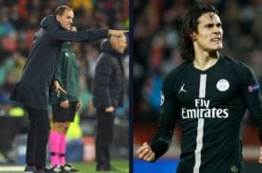 Tuchel admits he doesn't have a place for Cavani in his team