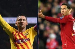 Van Dijk has nothing but praise for Lionel Messi's greatness